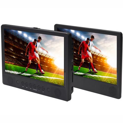 "Denver DVD/USB 2st 10,1"" skärmar"