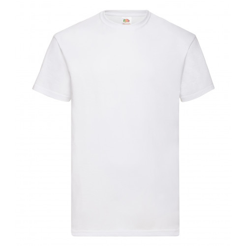 Fruit of the loom Valueweight Tee White