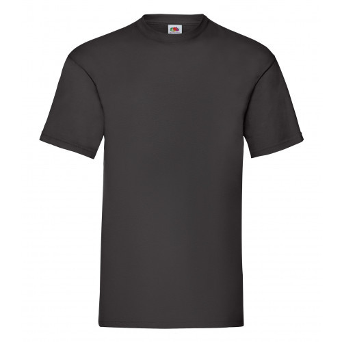 Fruit of the loom Valueweight Tee Black