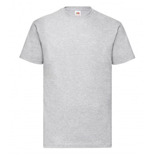 Fruit of the loom Valueweight Tee Heather Grey