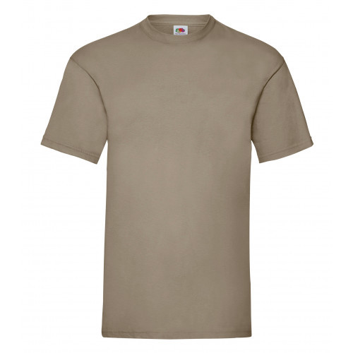 Fruit of the loom Valueweight Tee Khaki