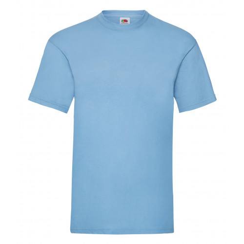 Fruit of the loom Valueweight Tee New Sky Blue