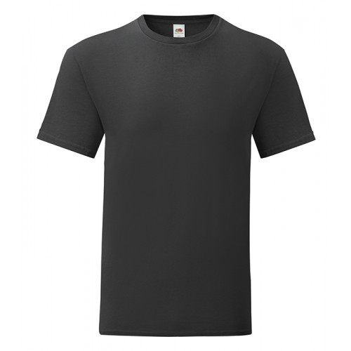 Fruit of the loom Iconic Ringspun T Black