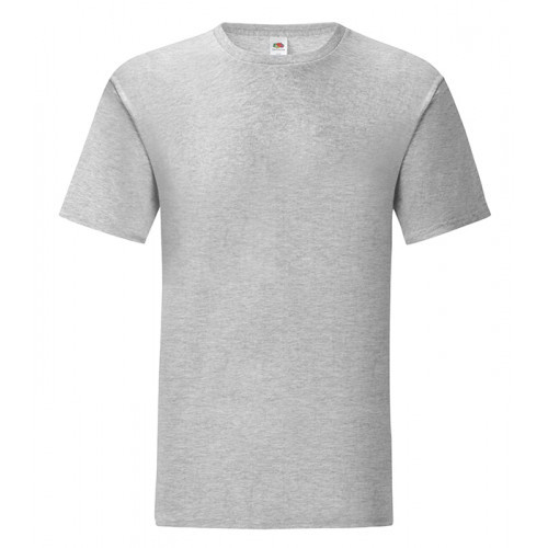 Fruit of the loom Iconic Ringspun T Heather Grey