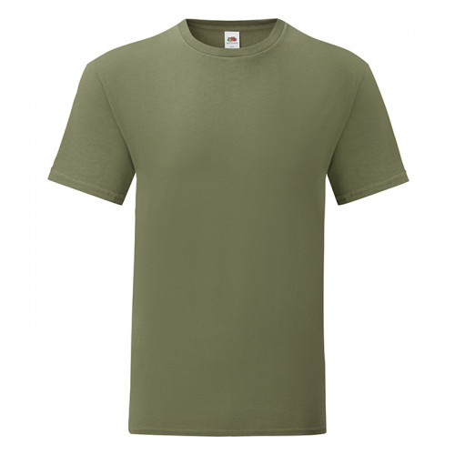 Fruit of the loom Iconic Ringspun T Classic Olive