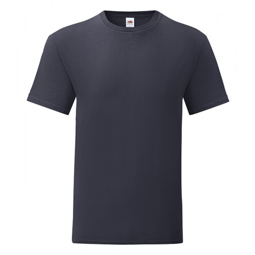 Fruit of the loom Iconic Ringspun T Deep Navy