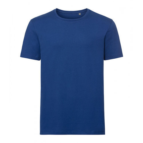 Russell Men´s Authentic Pure Organic T Bright Royal