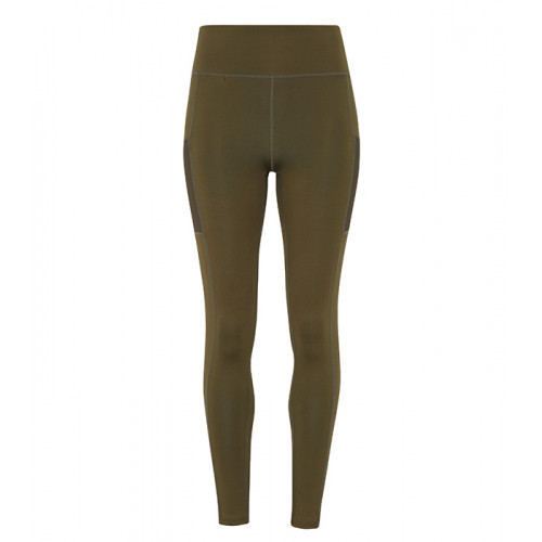 Tri Dri Ladies TriDri ® Performance Compression Leggings Olive