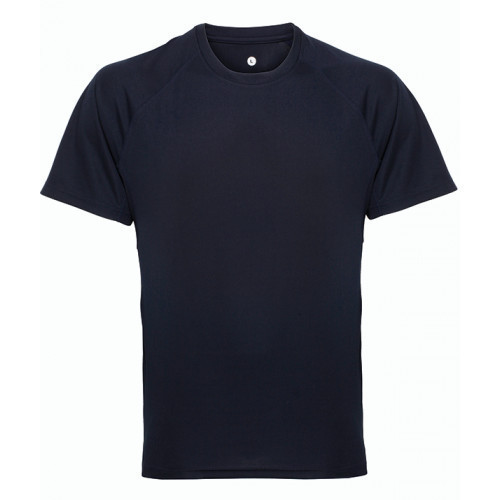 Tri Dri Panelled TriDri® tech tee French Navy