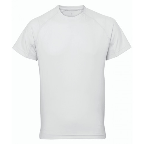 Tri Dri Panelled TriDri® tech tee White