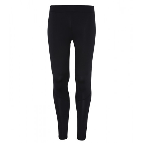 Tri Dri Mens TriDri® Ankle Zip Training leggings Black