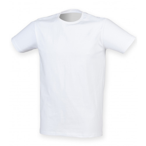Skinnifit Men Feel Good Stretch T-Shirt White