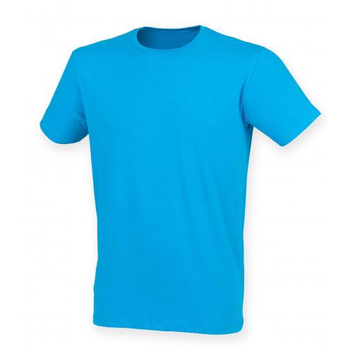 Skinnifit Men Feel Good Stretch T-Shirt Sapphire