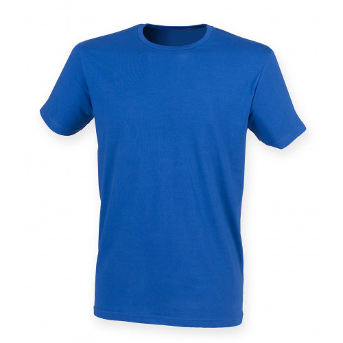 Skinnifit Men Feel Good Stretch T-Shirt Royal