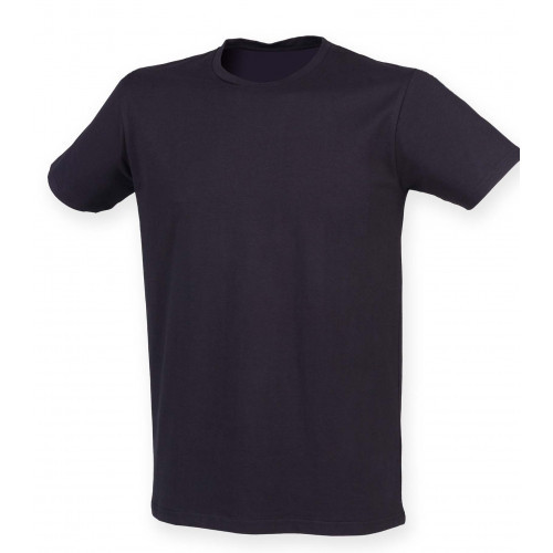 Skinnifit Men Feel Good Stretch T-Shirt Navy