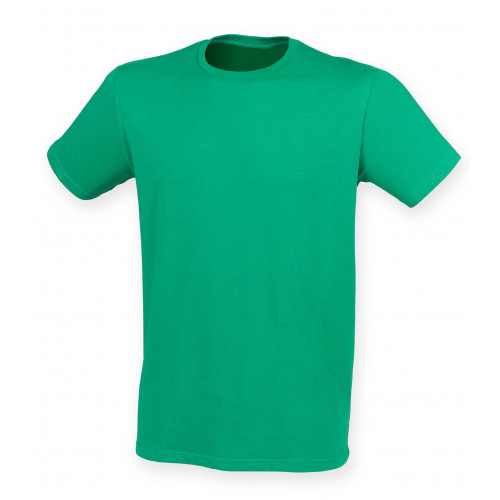 Skinnifit Men Feel Good Stretch T-Shirt Green