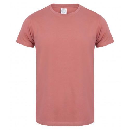 Skinnifit Men Feel Good Stretch T-Shirt Clay