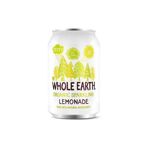 Whole Earth Sparkling Organic Lemonade 33cl EKO