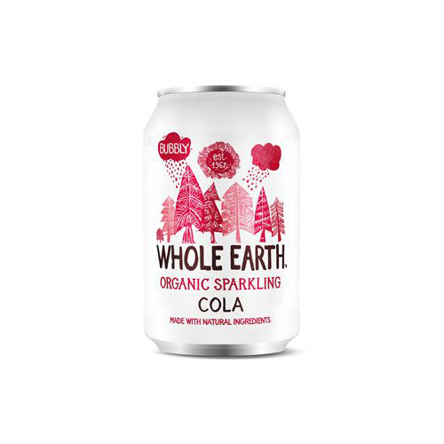 Whole Earth Sparkling Organic Cola 33cl EKO