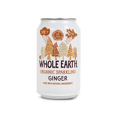 Whole Earth Sparkling Organic Ginger 33cl EKO