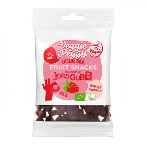 Veggie Peggy Fruit Snacks Jordgubb 50g EKO