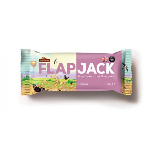 Wholebaker Flapjack Pecan  80g