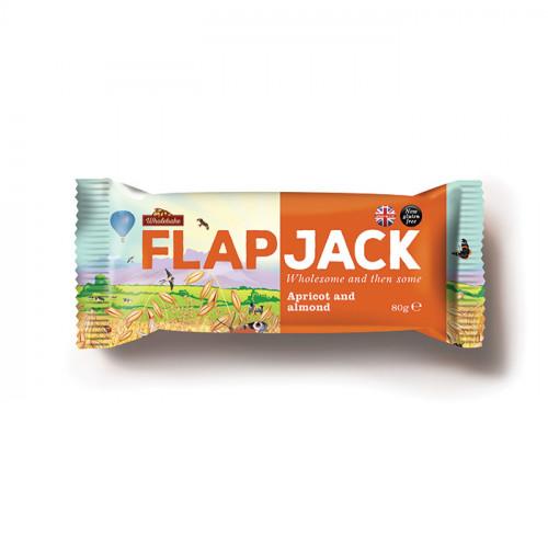 Wholebaker Flapjack Apricot & Almond 80g