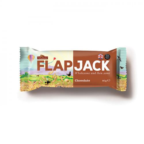 Wholebaker Flapjack Chocolate 80g