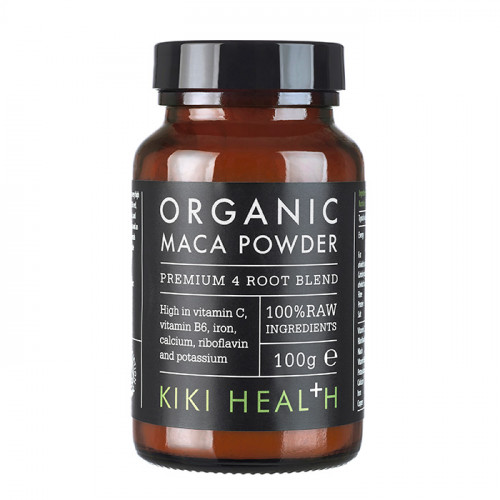 Kiki Health Organic Premium 4 Root Maca Powder 100g