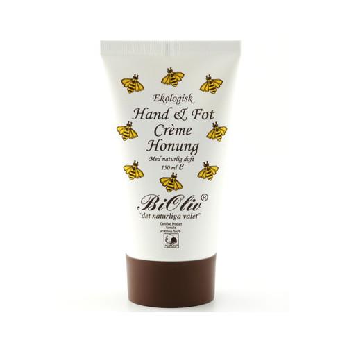 BiOliv BiOliv Hand & Fot Crème Honung 150 ml EKO