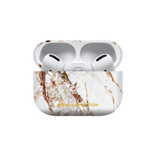 ONSALA COLLECTION Airpods Pro Fodral White Rhino Marble