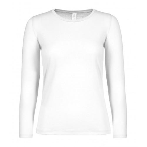 B&C B&C #E150 LSL /women White