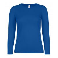 B&C B&C #E150 LSL /women Royal Blue