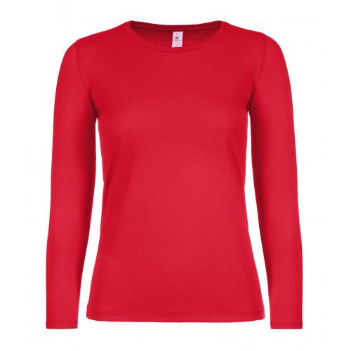 B&C B&C #E150 LSL /women Red