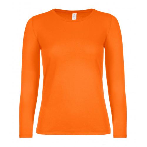 B&C B&C #E150 LSL /women Orange