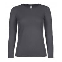 B&C B&C #E150 LSL /women Dark Grey