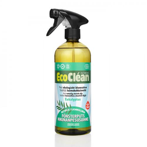 EcoClean Fönsterputs Eucalyptus 750 ml EKO