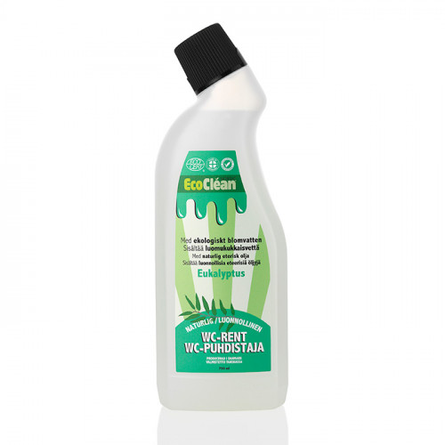 EcoClean WC-rent Eucalyptus 750 ml EKO