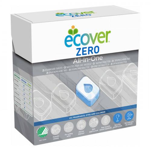 Ecover Ecover Maskindiskmedel All-In-One ZERO 25 st