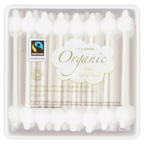 Simply Gentle Organic Baby Safety Buds 56 buds