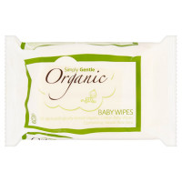 Simply Gentle Organic Baby Wipes 52 wipes