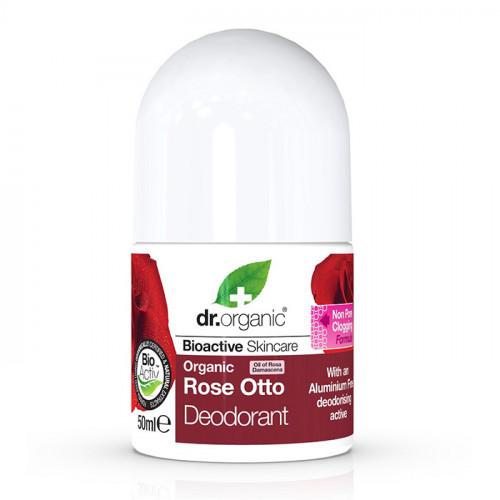 Dr Organic Rose Otto Deodorant 50ml