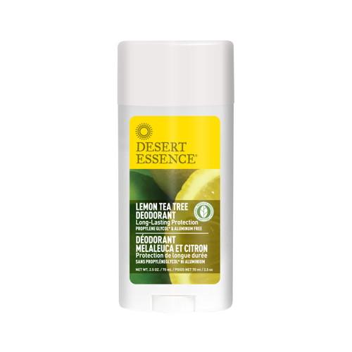 Desert Essence Deodorant Stick Lemon/Tea Tree Oil 70ml