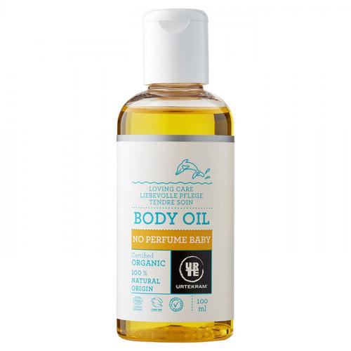 Urtekram Urtekram No perfume baby Baby oil 100ml EKO