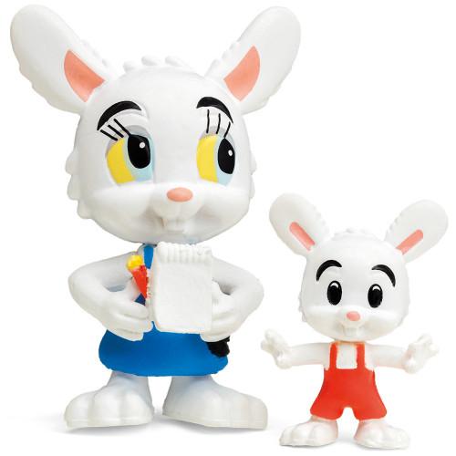 Bamse Nina Kanin & Minihopp Figurset