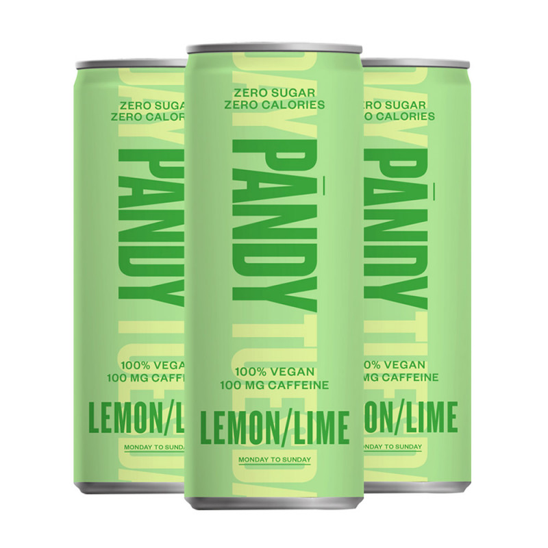 Pandy 3x Energidryck Lemon/Lime