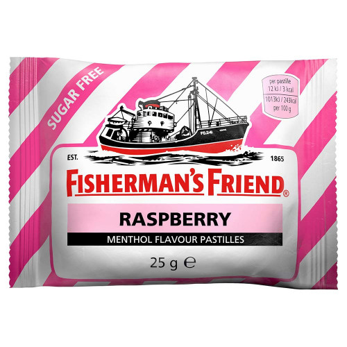 FISHERMAN'S FRIEND Fisherman's Rasberry sockerfri 25 g