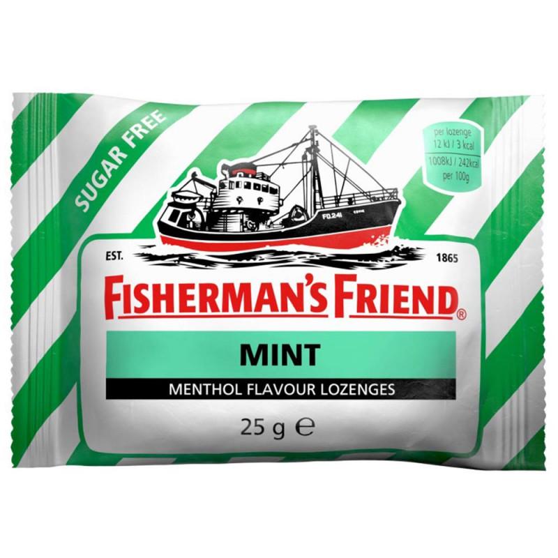 FISHERMAN'S FRIEND Fishermans Mint sockerfri 25g