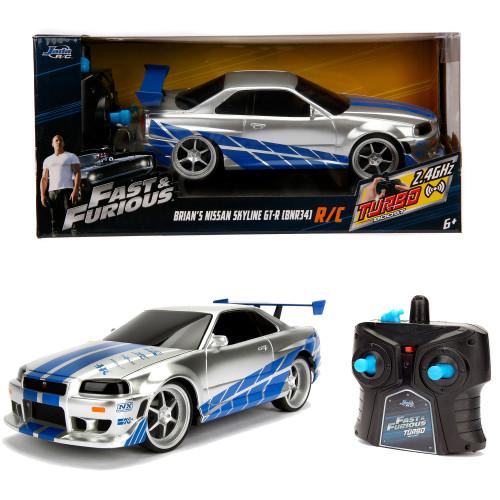 Jada Toys Fast&Furious RC Nissan Skyline