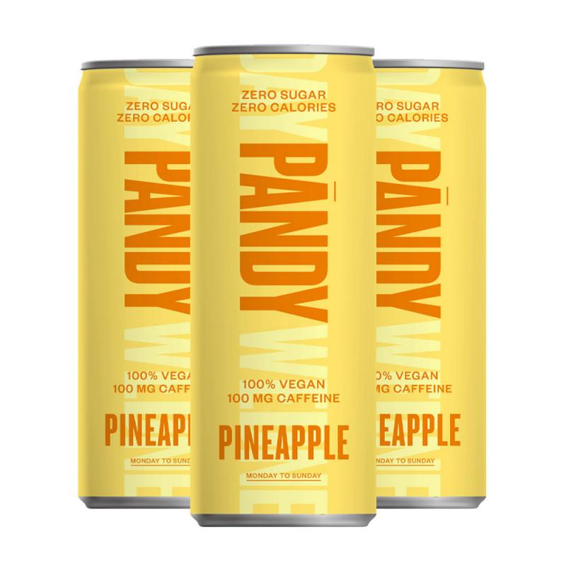 Pandy 3x Energidryck Pineapple